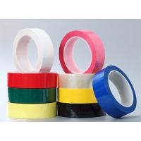 Color Green PET Polyester Mylar Tape Coating With Acrylic Glue insulation tape
