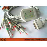 Schiller AT-1 one-piece 10 lead EKG cable and leadwire with banana4.0