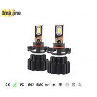 5202 H16 LED Replacement Headlight Bulbs 6000k High Lumen Beam Bulb Black Or Customized