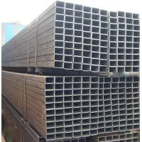 Customized Hollow ERW Black Steel Pipe , Square Q235 Steel Pipe with IS9001