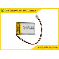 Rechargeable Lithium Polymer Battery 3.7V 400mah With PCM / Wires / Connector