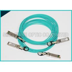 China 3m SFP+ 10GB Fiber Optic Active Direct Attach Aqua Cable OM3 Multimode on sale
