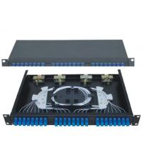 19''Standard Structure SC24 Rack-Mounted  Fiber Optic Patch Panel  Terminal Box