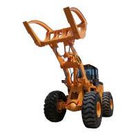 BENE hot sale atv log grap loader with Cummins engine 8ton/10ton/12ton15ton wheel loader with grapples attachments