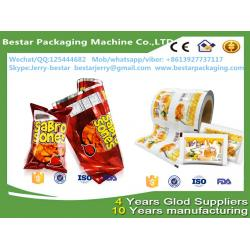 China holesale vivid printing frozen popsicle packaging roll film,Food packaging plastic roll film with bestar packaging on sale