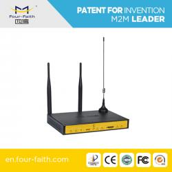China F3434S 3g 4lan port wireless industrial router, rs232 port for bus wifi router on sale