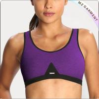 Women Purple Exercise Bras