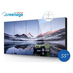 China 55 Inch Ultra thin LCD Video Walls LCD Display Panel 1209.6 (H) x 680.4 (V) on sale