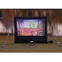 Commercial Inflatable Movie Screen 210 D Reinforced Oxford Material