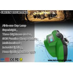 China GLC-6C 170g 13000Lux 1W Cree LED Miner Light Hunting Cap Light LCD with OLED display on sale