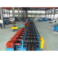 Three Waves Guardrail Roll Forming Machine with Conveyor Table Hydraulic Decoiler