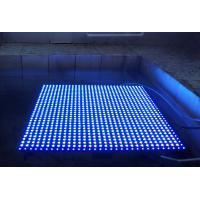 Waterproof Blue Color PH20mm 640mm * 640mm  color Rental Curtain LED Screen Display