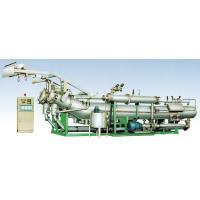 Horizontal Fabric Dyeing Machine Programmable High Capacity 200 m/min