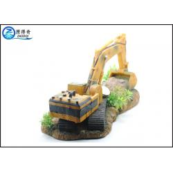 Excavator shaped resin aquarium ornaments for cool fish for Cool fish for sale