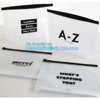 Summer Kit Frosted Ziplock Bag Slider Zipper Bag, underware packing PE material slider zipper bag, slider zipper pvc bag