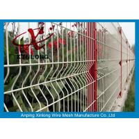 Galvanized Powders Sprayed Coating 200*50mm Welded Wire Mesh Fence for sale