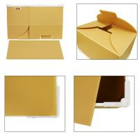Folding / Collapsible PP Plastic Corrugated Boxes For Moving / Packing / Storage