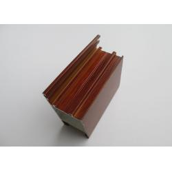 China Door Frames Aluminum Extrusion Profiles Full Set Wood Finished ISO9001 Certification on sale