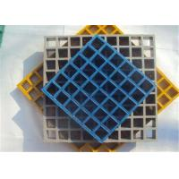 Frp Colorful Plastic Floor Grating High Strength Chemical Resistant