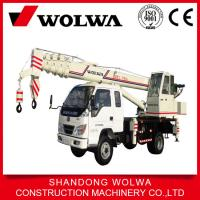 small hydraulic pickup crane with max 8 ton lifting weight