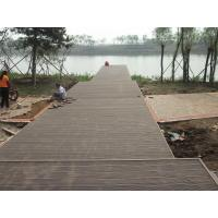 Solid Eco-friendly WPC Decking Flooring For Outdoor Park Decoration