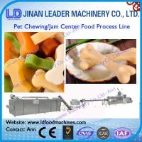 Industrial jam center pet food processing line chewing dog food machine
