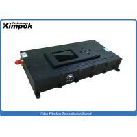 UAV / UGV  COFDM Wireless Video Sender 3000mW RF Power 100km LOS air to ground