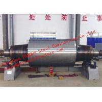 High Carbon Tool Steel Solid Forged Backup Rolls For Cold And Hot Rolling Mills