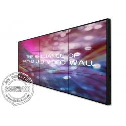 China Ultra Narrow Bezel 55 Digital Signage Video Wall 1080P HD 3.5mm 500 Brightness on sale