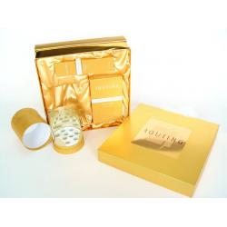 China Custom Gold Present Gift Cardboard Boxes for Wedding on sale