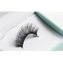 China 5 pairs/pack styletic eyelash human hair free shipping permanent false eyelashes on sale