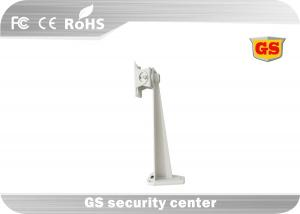 Light Gray CCTV Accessories , Metal Shelf Brackets Angle Adjusted