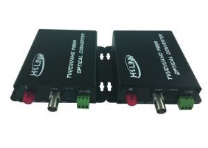 720P / 1080P CCTV Camera 1c AHD Fiber Converter standalone RS-485 Control port