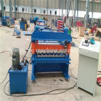 Panasonic PLC Controlled Steel Automatic Roof Panel Roll Forming Machine