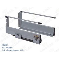New Double wall Soft Close Drawer Slide Runner KRS03