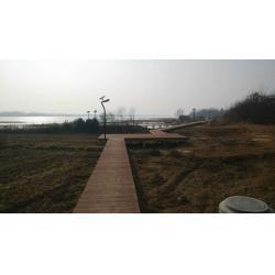 China Outdoor WPC Decking Floor Landscape Platform / Seaside Wood Plastic Composite Flooring on sale
