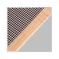 Teflon glassfiber mesh belt with different edge strengthen