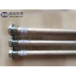 China Mg Anodes Water Heater Anode Replacement With Diameters Ranging From 0.500 To 2.562 With Stainless Steel Caps on sale