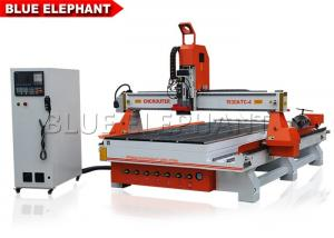 Rotary Device ATC CNC Router Machine 4 Axis 0 - 24000mm / Min Working Speed