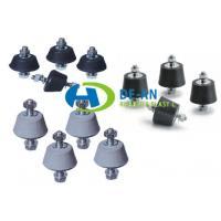 NR NBR EPDM SBR Rubber Vibration Mounts , Compactor Rubber Damper