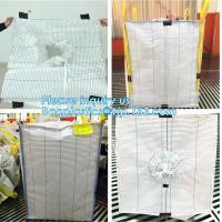 PP woven big bag/bulk bag/jumbo bag 1000kg,china factory woven polypropylene sand use pp woven big bag 1000kg, BAGEASE