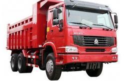 La Chine Marque 380hp, euro camion de CNHTC à benne basculante de verseur de la norme d'émission de Ⅲ HOWO 6×4 fournisseur