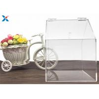 House Shape Big Clear Acrylic Candy Box Used In Retail Store