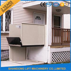 Home Wheelchair Outdoor Residential Elevator Handicap Lift Equipment for Lifting Disabled Person