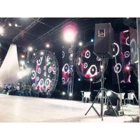 Outdoor P18 Flexible Led Curtain Display Screen For Stage Backgound , IP65 3086 dots/m2