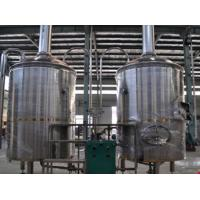 Steaming Heating Stainless Steel Mash Lauter Tun 380V Voltage With Pid Control System