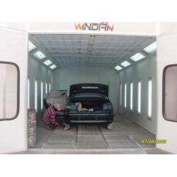 China RG5S diesel burner Auto Spray Booth for car care painting, drying and Baking WD-50 on sale