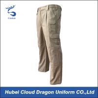 Formal Uniform Tactical Pants Durable Canvas Mens Security Guard Pants