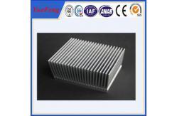 La Chine Fraisez le radiateur en aluminium d'extrusion mené par finition, extrusion d'aluminium de radiateur fournisseur