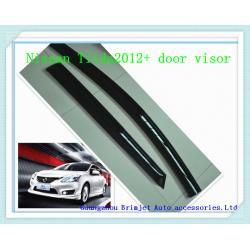 China Window visor for Nissan Tiida 2012 + [ injection moulding , dark transperant color ] on sale